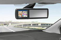 Ford's mirror-based sat-nav