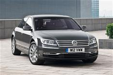 Face-lifted VW Phaeton from 46,195