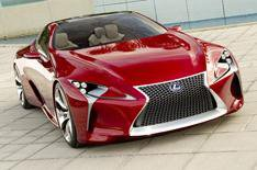 Detroit motor show 2012: Lexus LF-LC