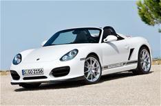 Porsche launches new Boxster Spyder