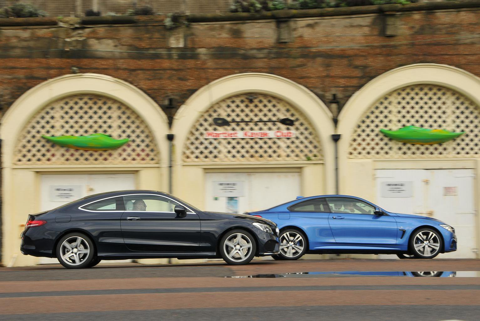 BMW 4 Series Coupe vs Mercedes C-Class Coupe
