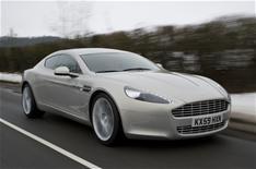 Aston Martin Rapide: driven