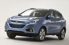 Face-lifted Hyundai ix35 revealed