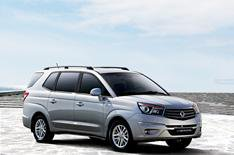 New Ssangyong Rodius unveiled