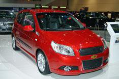 Chevrolet Aveo three-door