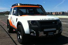 Land Rover DC100 Expedition driven