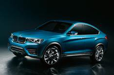 BMW X4 coupe concept shown in Shanghai