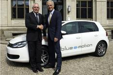 VW's Golf gets Blue-e-motion