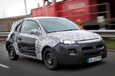 Vauxhall Adam name and photos revealed