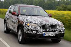 New BMW X3 on the way