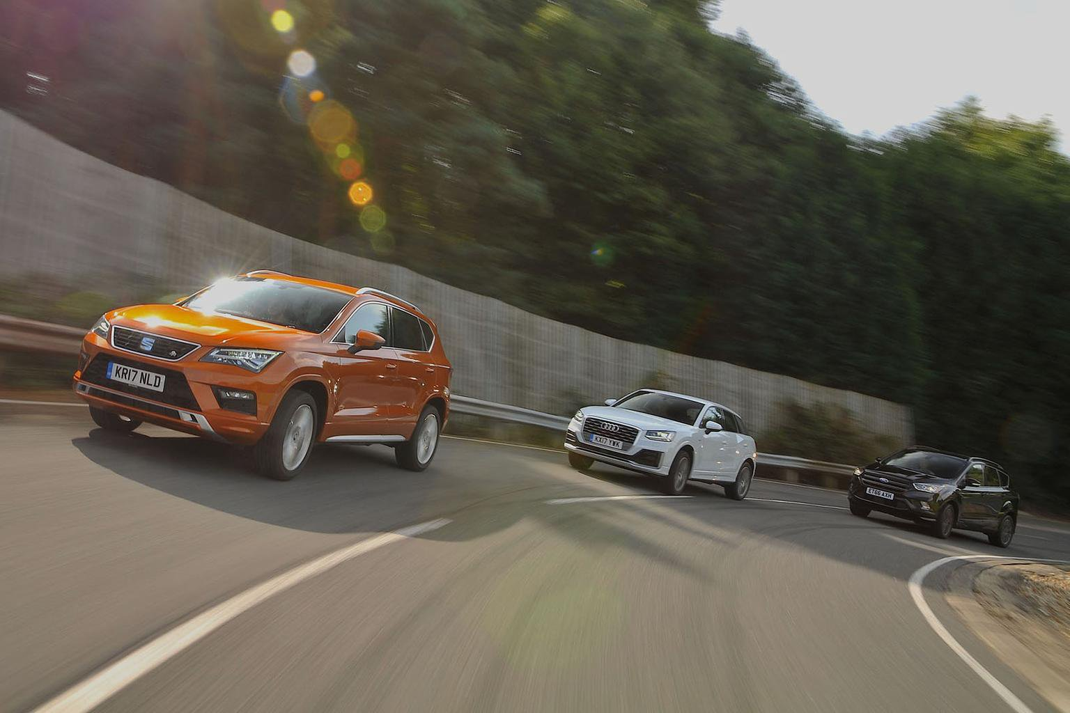 New Seat Ateca vs Audi Q2 vs Ford Kuga