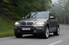 New BMW X5 model and updated 6 Series