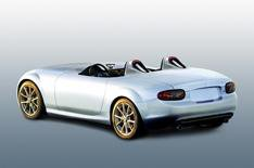 Mazda shows MX-5 concept car
