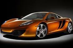 McLaren MP4-12C revealed Sept 09
