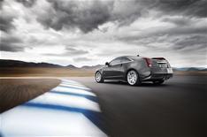 Cadillac CTS-V coupe at Paris show