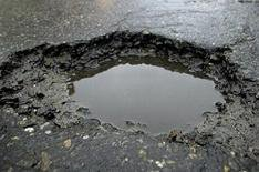 'Invisible' pothole threat to drivers