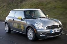 Mini E electric car trial ends
