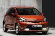 Toyota Aygo cleans up for 2012