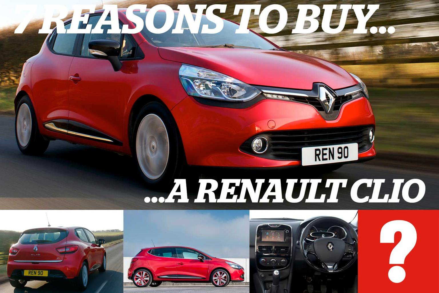 7 reasons to buy a Renault Clio