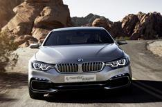 New BMW 4 Series Concept Coupe revealed