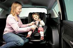 Replace child seats after an accident