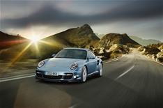 New Porsche 911 Turbo S at Geneva