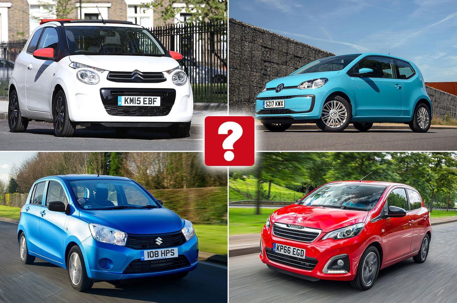 Best and worst small cars for less than £10,000