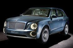 Bentley SUV redesign due