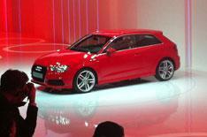 Geneva motor show 2012: Audi A3
