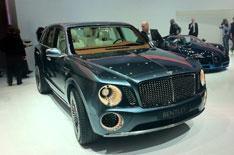 Geneva motor show 2012: Bentley EXP 9 F