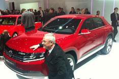 Geneva motor show 2012: VW Cross Coupe