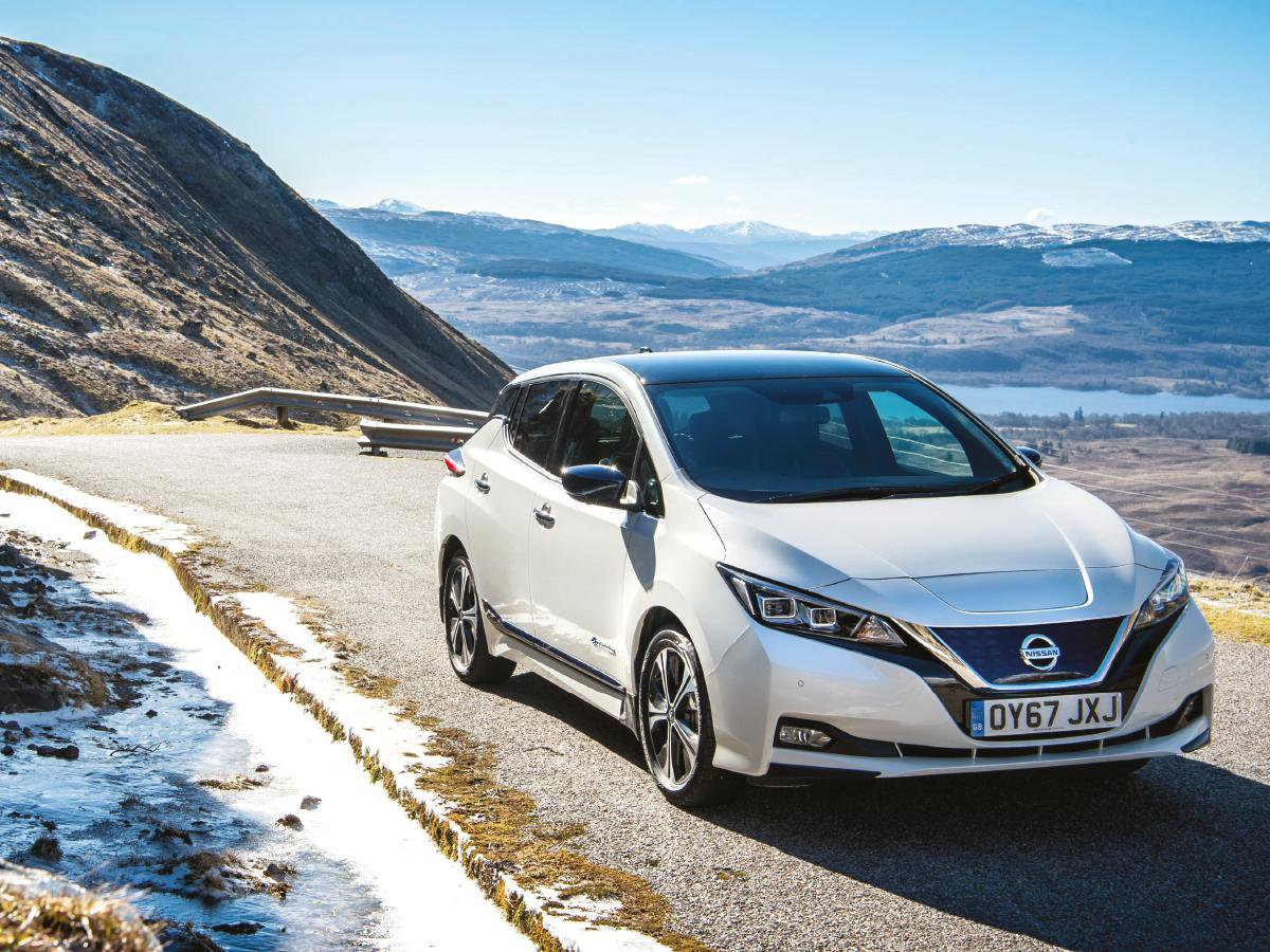 Promoted: The New Nissan LEAF – safety first