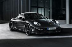 New Porsche Cayman S Black Edition