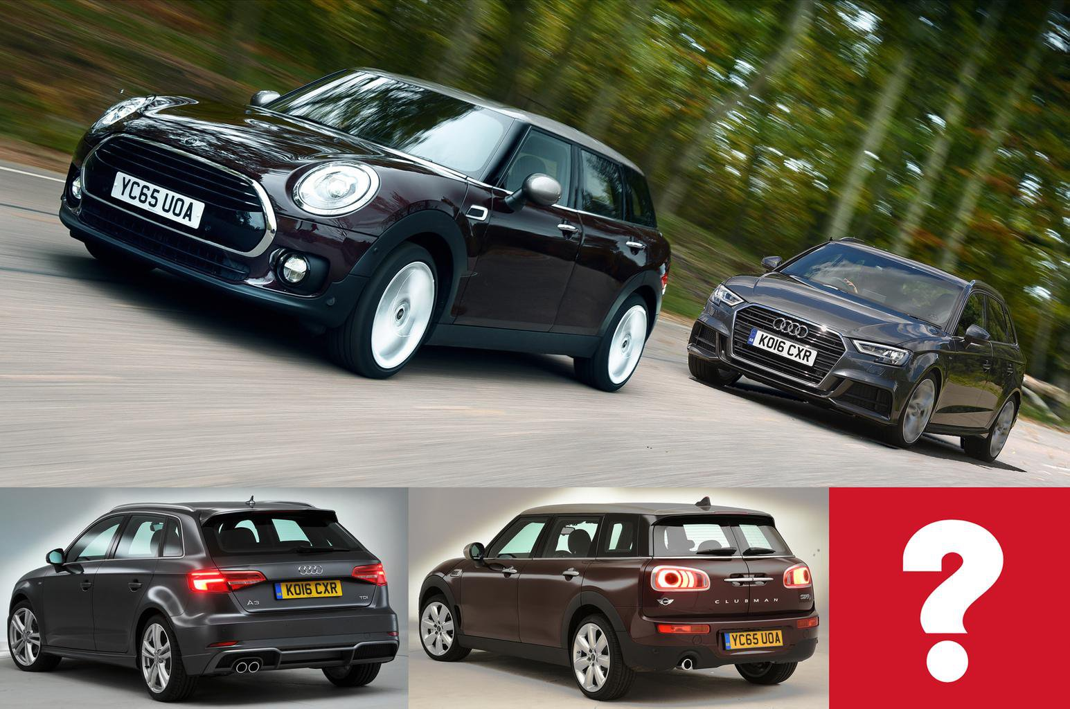 Audi A3 Vs Mini Clubman What Car