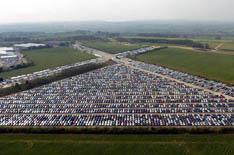 Honda mothballs thousands of cars