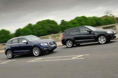 New Audi SQ5 vs BMW X3 xDrive35d M Sport