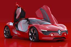 Renault DeZir concept car revealed