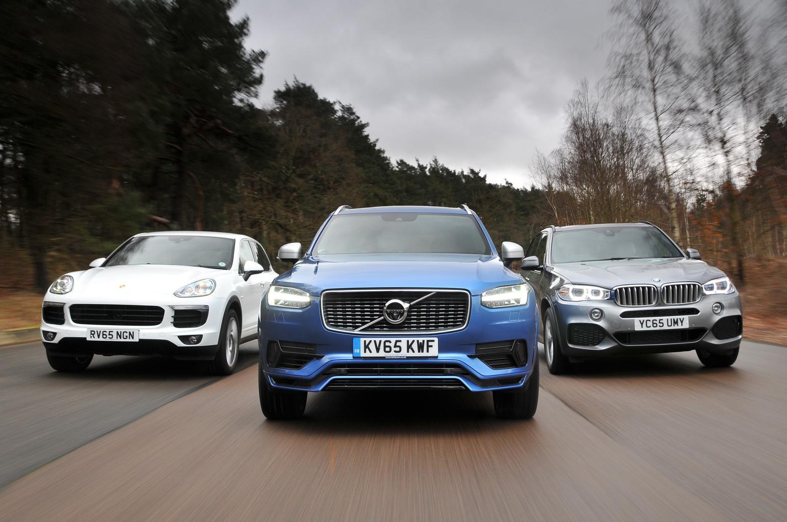 BMW X5 vs Porsche Cayenne vs Volvo XC90