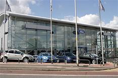 New UK car sales slump