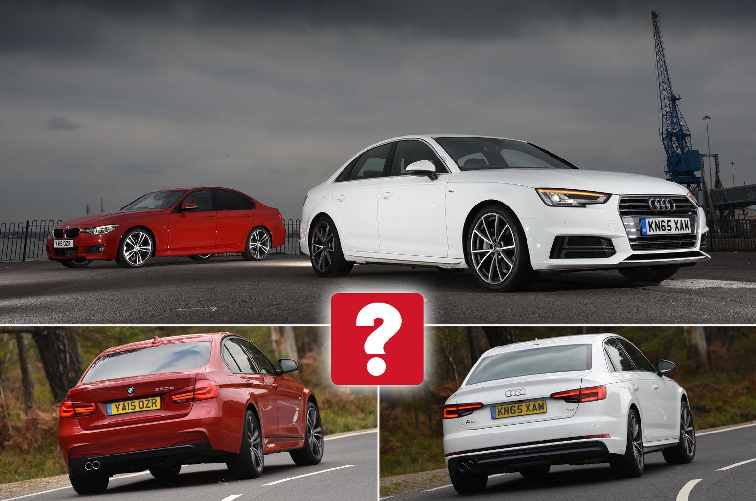 Used Test Audi A4 Vs Bmw 3 Series What Car