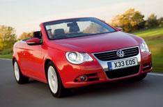 VW Eos now with Bluemotion