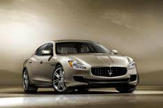 Maserati reveals new Quattroporte