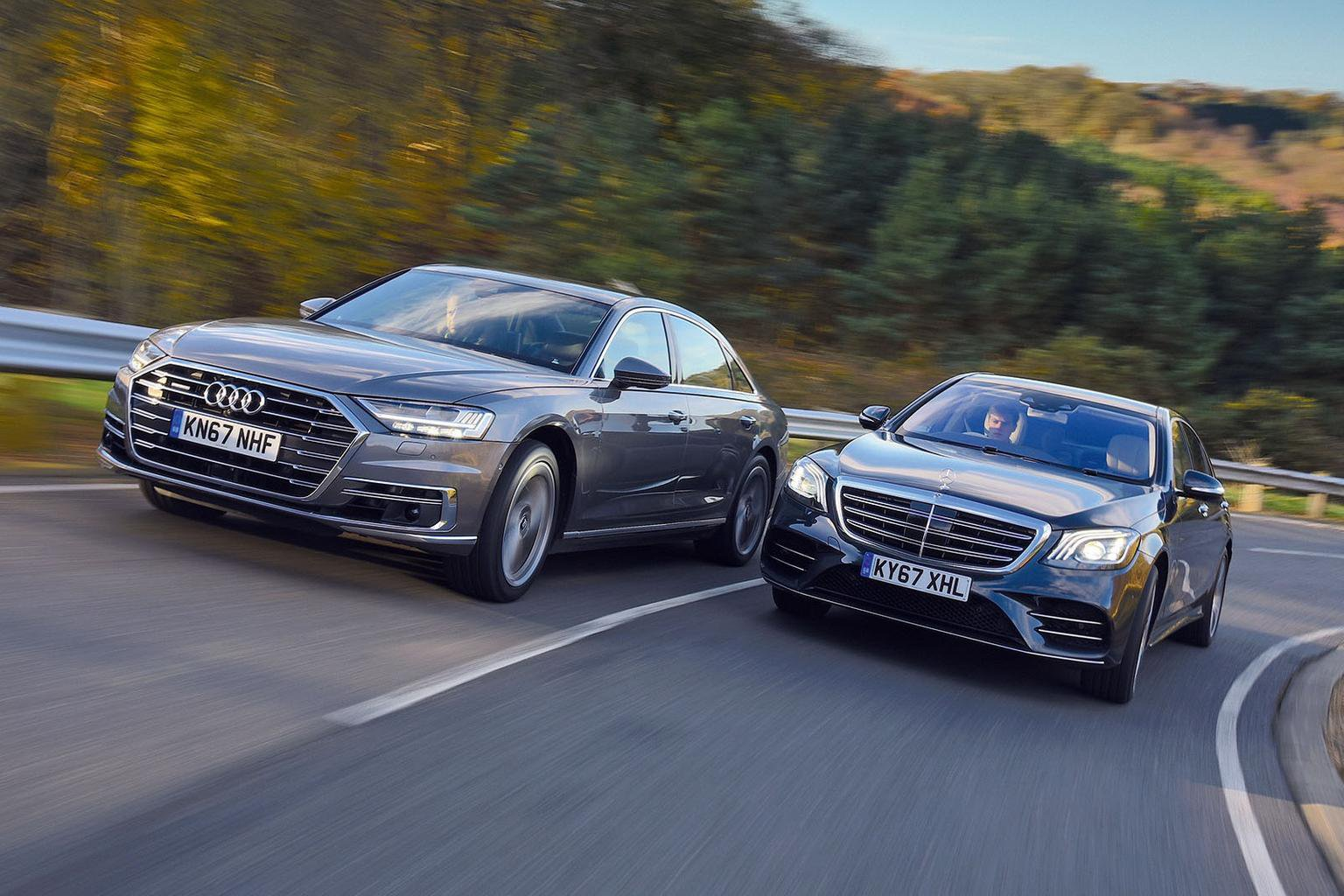 New Audi A8 Vs Mercedes S Cl