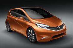 Geneva 2012: Nissan Invitation concept