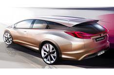 Geneva debut for Honda Civic estate