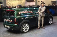 Geneva motor show 2012: Mini Clubvan