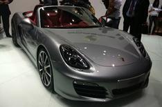 Geneva motor show 2012: Porsche Boxster