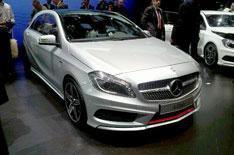 Geneva 2012: new Mercedes A-Class
