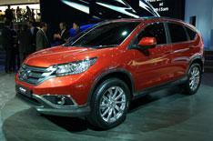 Geneva motor show 2012: Honda CR-V