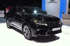 Geneva motor show 2012: Lexus RX450h
